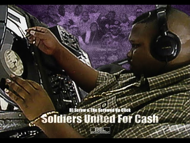 R I P DJ Screw making a Screw tape Chopped Screwed Soldiers United for Cash documentary