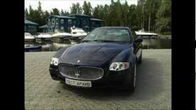 Тест-драйв Maserati Quattroporte