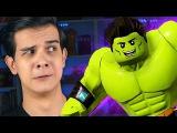 НОВЫЙ ХАЛК И ДИНОЗАВР - LEGO Marvel Super Heroes 2