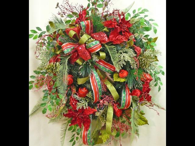 Christmas Wreath: A Sneak Peek- Nancy Alexander (2016 edition)