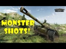 World of Tanks Funny Moments MONSTER SHOTS 5