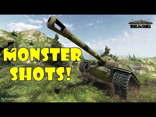 World of Tanks - Funny Moments | MONSTER SHOTS! 5