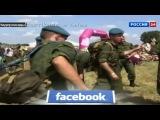 Российская десантура порвала натовских десантников