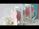 Рамка двойная гармошка Скрапбукинг СП 1 этап Разворот детского альбома