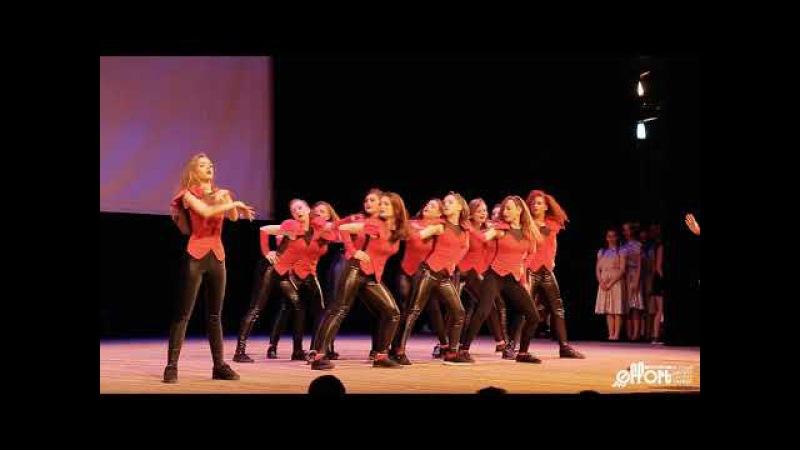 История моды | отчетный концерт Высшей школы уличного танца Effort | choreo by Elena Lokteva