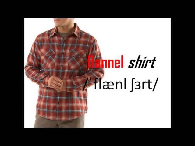 71 Describing Clothing. название одежды