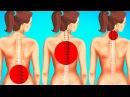 Упражнения на Растяжку Для Уменьшения Боли в Спине Всего за 1 Минуту