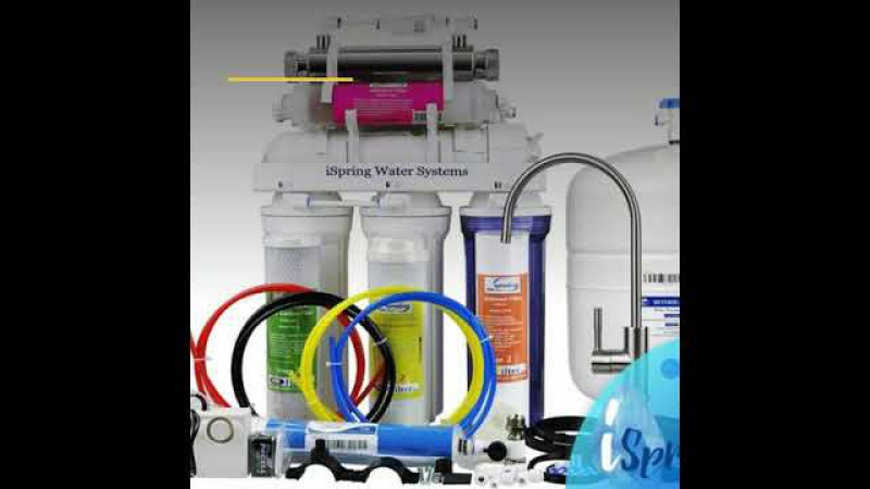 ISpring 7 Stage 75 GPD Alkaline Reverse Osmosis