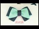 Easy Simple Ribbon Bow | DIY by Elysia Handmade