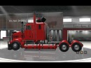 ATS American Truck Simulator Kenworth Sar T908