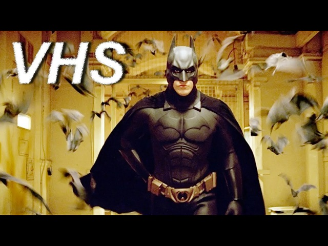 Бэтмен Начало 2005 русский трейлер озвучка VHS