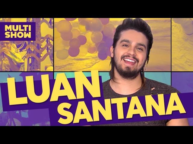 8 curiosidades | Luan Santana Thaynara OG | TVZ Ao Vivo | Música Multishow