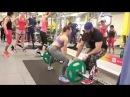 Тренировка ягодичных мышц.
