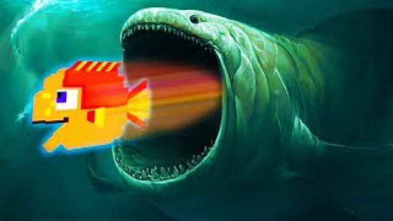 Я маленькая рыбка и меня хотят все СЪЕСТЬ в прикольной детской игре для телефона...