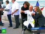 Инвалид переплыл Ла-Манш