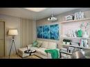 Эко-стиль в интерьере двухкомнатной квартиры 50 кв.метров