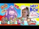 Мега выпуск - открываем СвитБокс Sweet Box Surprise и Киндер Сюрпризы Kinder Surprise