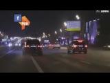 Мажоры на BMW X5 устроили гонки в Москве