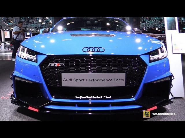 2018 Audi TT RS Audi Sport Accessorized - Exterior, Interior Walkaround - 2017 Frankfurt Auto Show