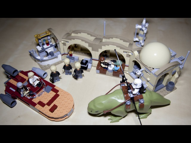 Lego Star Wars 75052 Mos Eisley Cantina Speed Build Review » Freewka.com - Смотреть онлайн в хорощем качестве