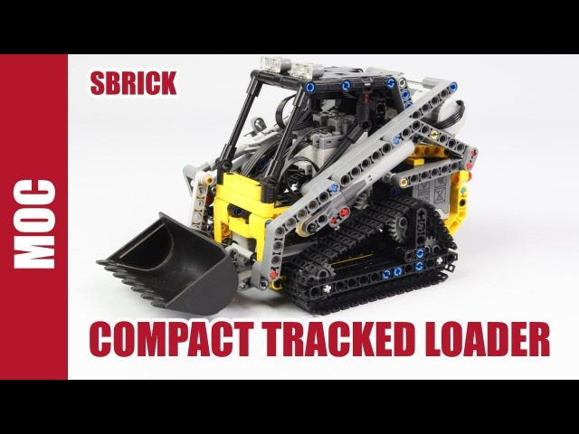 Lego Technic Compact Tracked Loader With Sbrick