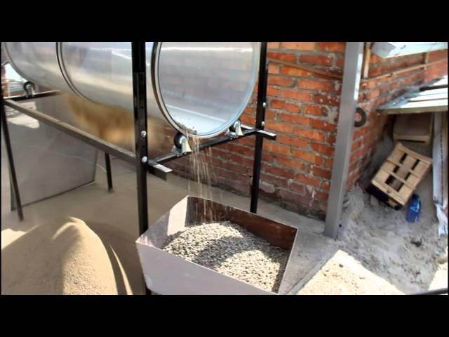 Сеялка для песка (отсева) по доступной цене/ альтернатива виброситу/ Барабанный просеиватель