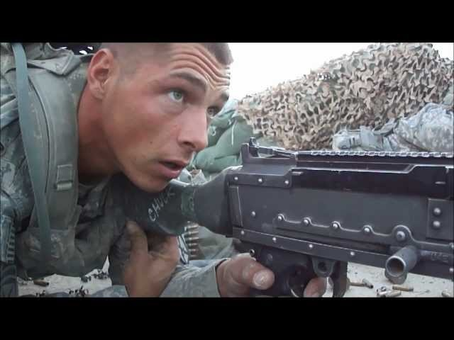 FIREFIGHT FROM A M240 NEST IN AFGHANISTAN - PART 1
