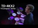 V-Drums V-Compact Series TD-4KX2 Demo