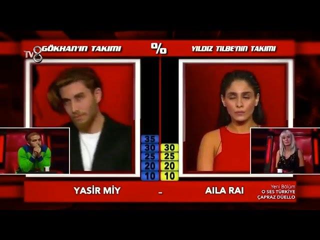 Aila Rai ve Yasir Miyin çapraz düellosu
