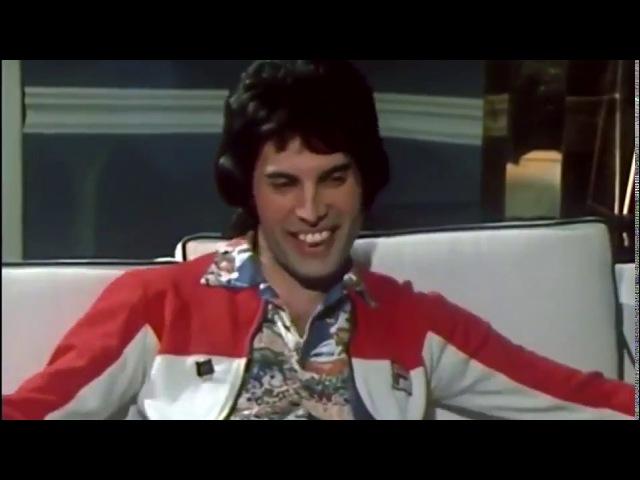 Фредди Меркьюри. Редкое интервью 1977 года.