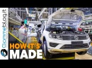 Volkswagen VW Tuareg CAR FACTORY How It's Made SUV ASSEMBLY