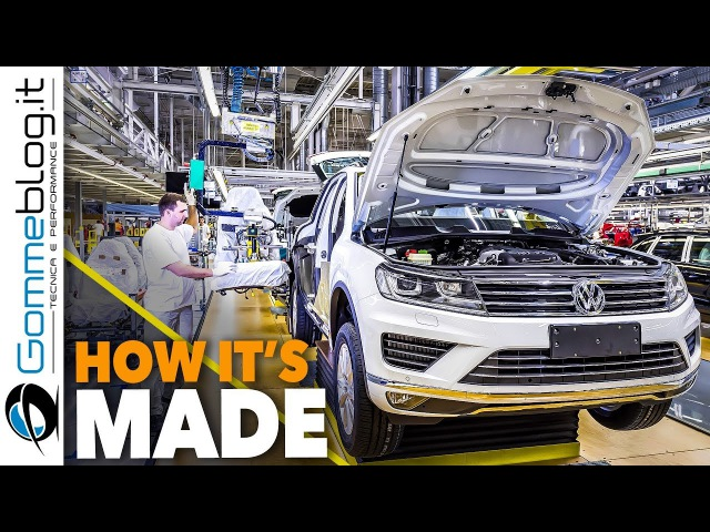 Volkswagen VW Tuareg CAR FACTORY How It's Made SUV ASSEMBLY смотреть онлайн без регистрации