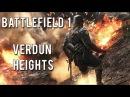 Battlefield 1 gameplay Verdun Heights - multiplayer conquest