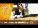 Como organizar roupas íntimas na gaveta Micaela Góes
