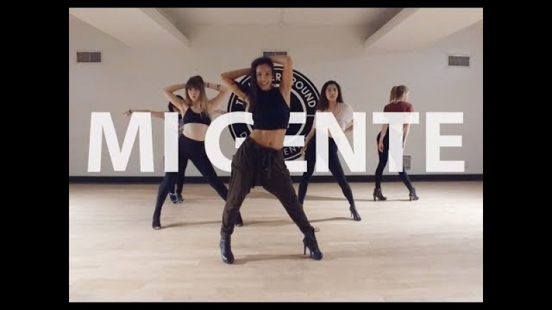 MI GENTE - J BALVIN (STEF WILLIAMS REGGAETONHEELS DANCE CLASS)