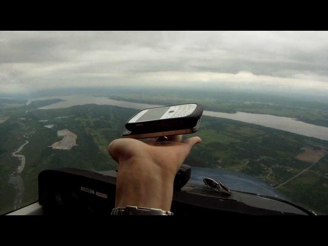 Zero gravity in a Cessna 172