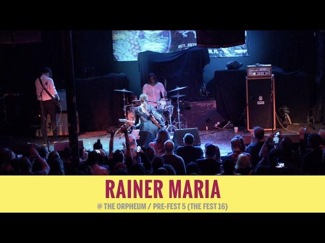 Rainer Maria [FULL SET] @ PreFest 5 2017-10-26