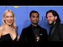 Kit Harington, Emilia Clarke and other Game of Thrones Star cast at Golden Globes 2018.