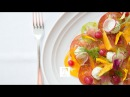 Heirloom Tomato Carpaccio Tea Recipe ft. Jamaican Spice at St. Regis SF CookingWithTealeaves