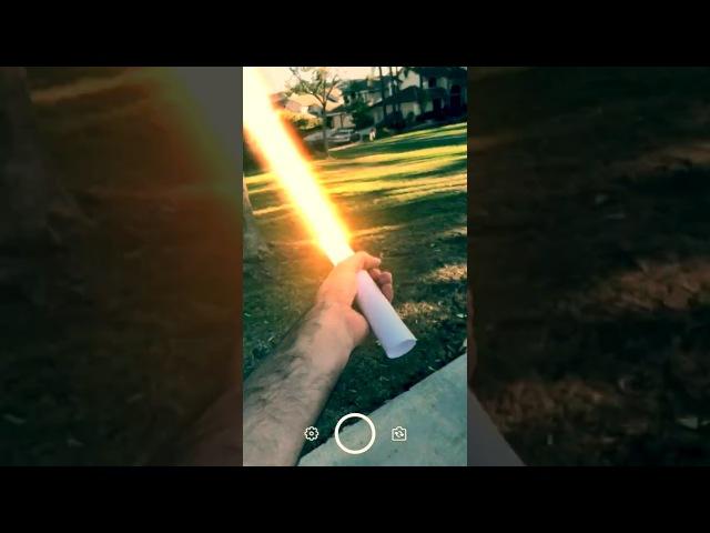 InstaSaber Demo (fixed aspect ratio)