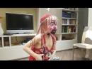 Видео для детей Детский танец живота на хеллоуин Halloween belly dance Детский канал Женя ТВ