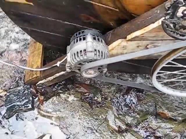 Free energy flywheel generator 2017 New