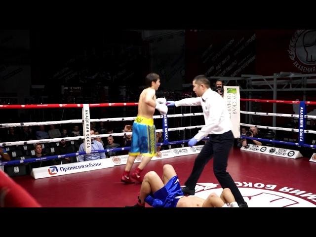 Злые нокауты и нокдауны на боксерском шоу Проспект