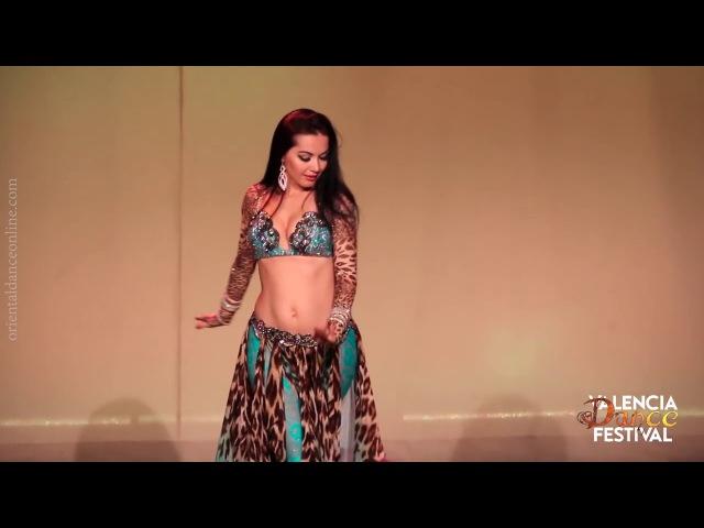 Marta Korzun 2016 I Tabla solo I Valencia Dance Festival I