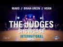 Brian Green Hoan Niako Judges Showcase International Impact AllStyle Battle 2017