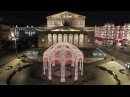Новогодняя Москва 2018 с квадрокоптера 4К New Year Moscow 2018 Aerial 4K Christmas in Moscow 2018