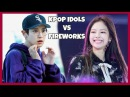 KPOP IDOLS VS FIREWORKS [SCARED l SHOCKED l ACCIDENTS] - BTS EXO TWICE GOT7 ETC [60k SUBS]