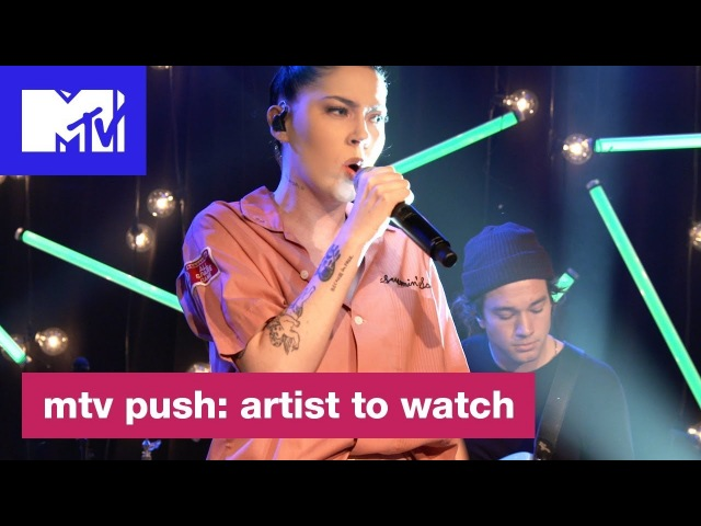 Bishop Briggs Performs Never Tear Us Apart' (INXS Cover) | MTV Push Artist to Watch