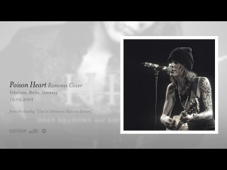 Ville Valo - Poison Heart (Acoustic Ramones Cover) [Berlin, Sep. 19]