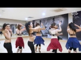 Modern belly dance to Shape of You (rehearsal video)